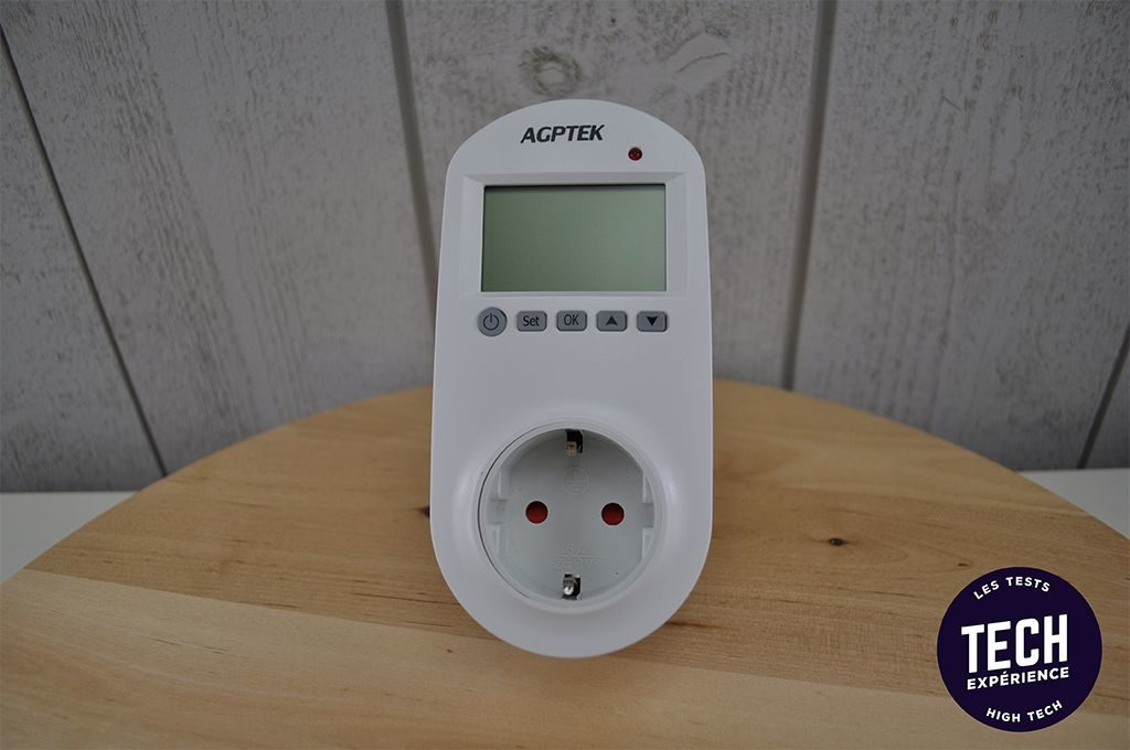 prise thermostatique agptek